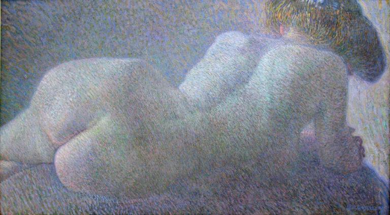 Reclining Nude | Leo Gestel | oil painting