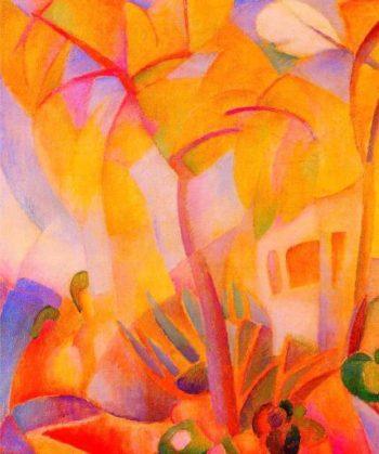Trees in Mallorca | Leo Gestel | oil painting
