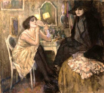 Woman at Her Toilette | Leo Gestel | oil painting