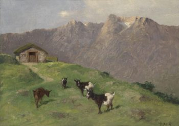 Mountain Goats | Arthur Heyer | oil painting