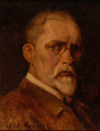 Self portrait | Arthur Heyer | oil painting