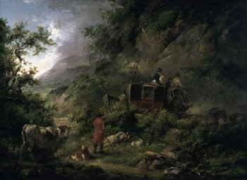 The Stagecoach | George Morland | oil painting