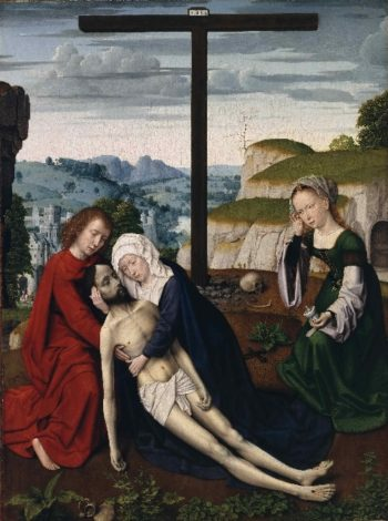 Lamentation | Gerard David | oil painting