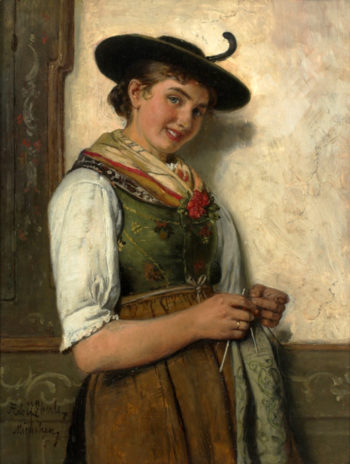 Untitled   Adolf Eberle   oil painting
