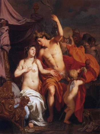 Bacchus and Ariadne | Gerard de Lairesse | oil painting