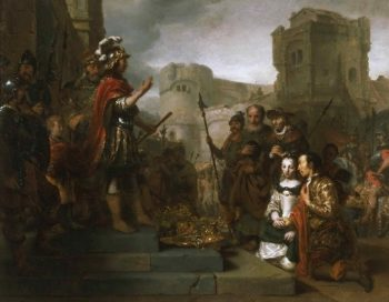 The Continence of Scipio | Gerbrand van den Eeckhout | oil painting
