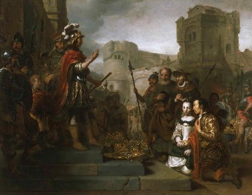 The Continence of Scipio | Gerbrand van den Eeckhout | oil painting