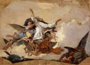 The Glory of Saint Dominico | Giovanni Battista Tiepolo | oil painting