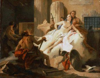 Venus and Vulcano   Giovanni Battista Tiepolo   oil painting