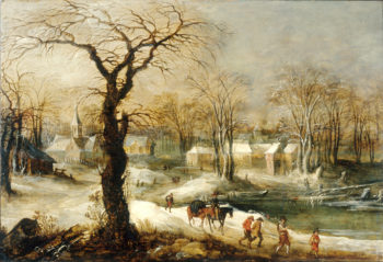 Winter Landscape II | Joos de Momper the Younger | oil painting