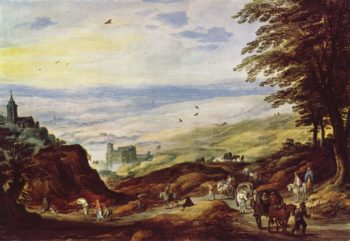 Paysage   Joos de Momper the Younger   oil painting