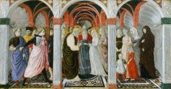 The Marriage of the Virgin | Giovanni di Pietro also called Nanni di Pietro | oil painting