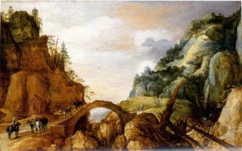 Mountainous Landscape | Joos de Momper the Younger | oil painting
