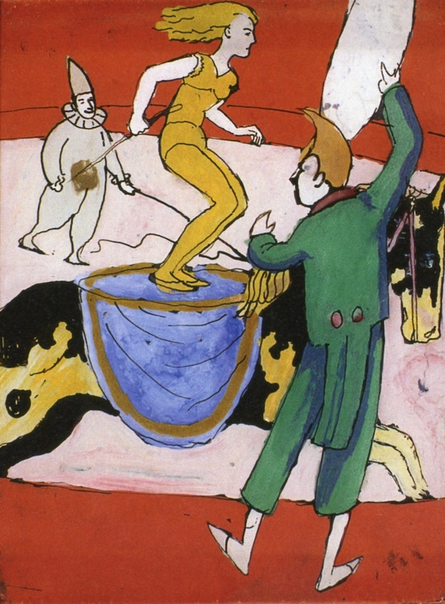 At the Circus | August Macke | oil painting