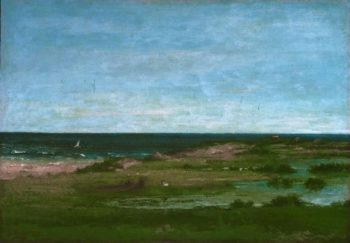 Coast Scene | Gustave Courbet | oil painting