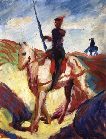 Don Quixote | August Macke | oil painting