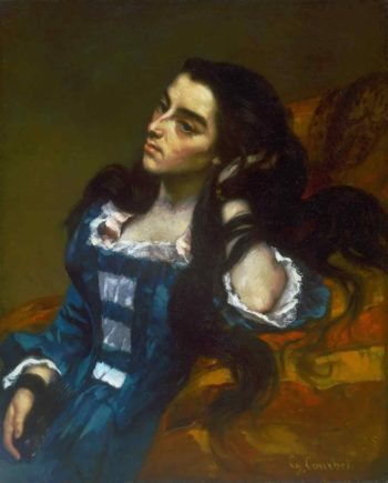 Spanish Woman | Gustave Courbet | oil painting