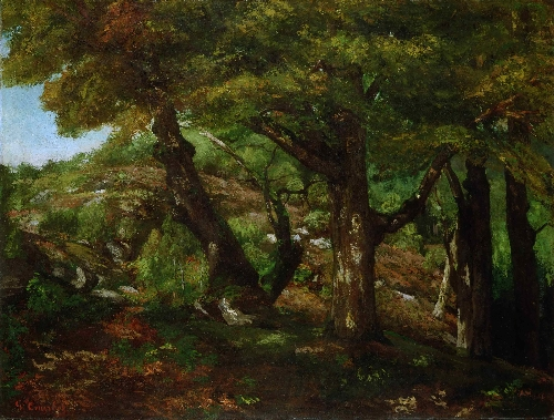 The Fringe of the Forest | Gustave Courbet | oil painting