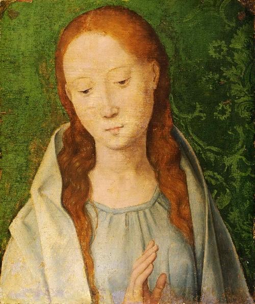 The Virgin | Hans Memling | oil painting