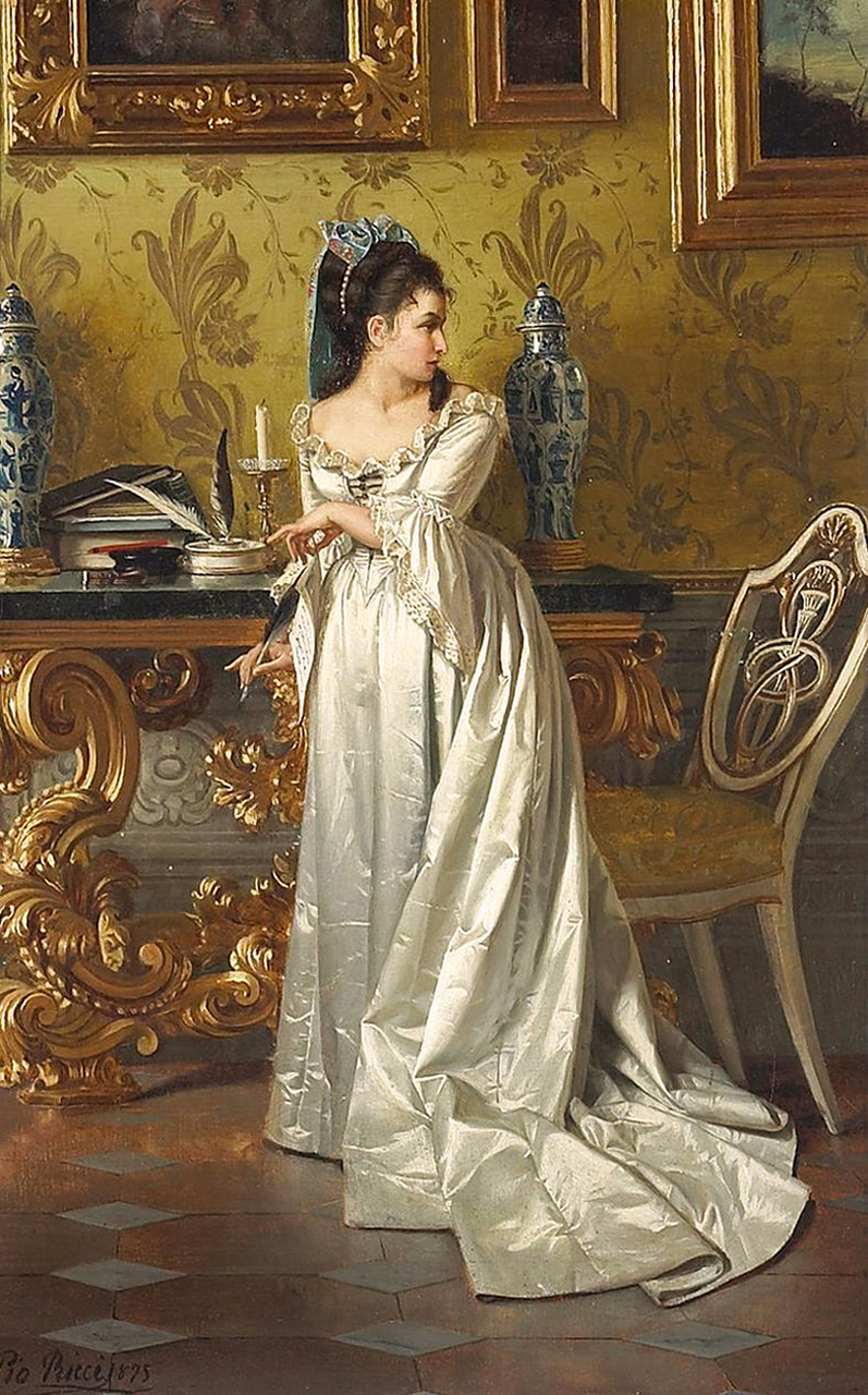 The Love Letter | Pio Ricci | oil painting