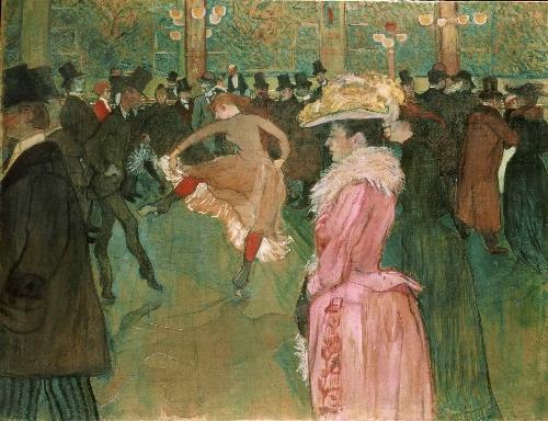 The Dance | Henri de Toulouse-Lautrec | oil painting