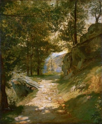The Pyrenees | Henri-Georges-Alexandre Regnault | oil painting