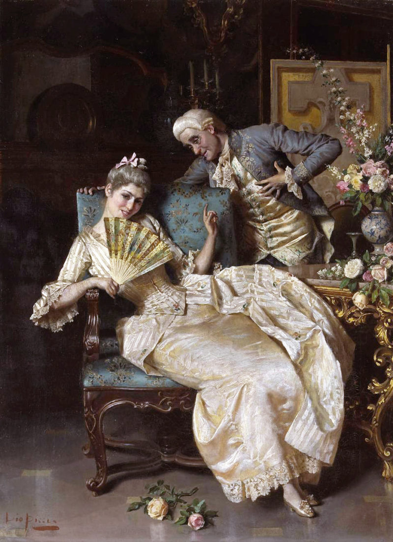 The Temptress I | Pio Ricci | oil painting