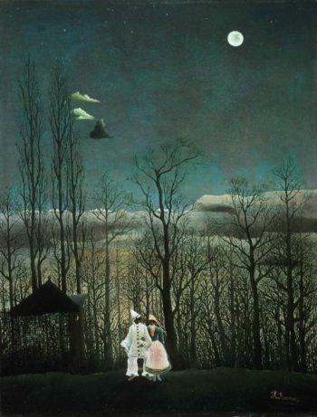 Carnival Evening | Henri-Julien-Felix Rousseau | oil painting