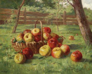 Apples | Karl Vikas | oil painting