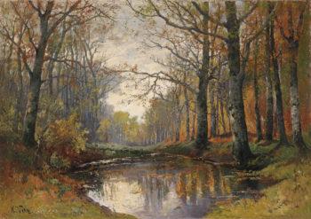 Autumn | Karl Vikas | oil painting