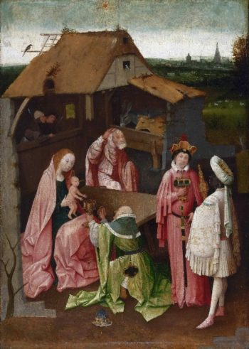 The Adoration of the Magi | Hieronymus Bosch | oil painting