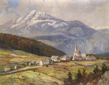 Mountain Landscape | Karl Vikas | oil painting
