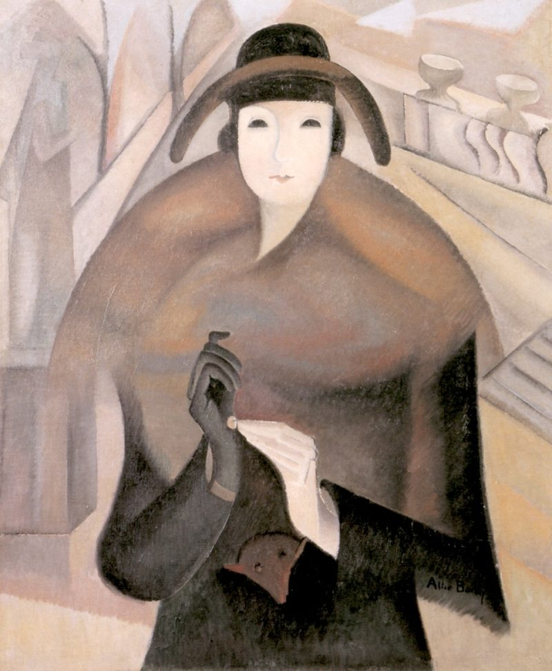 A Chilly Morning in Luxembourg | Alice Bailly | oil painting