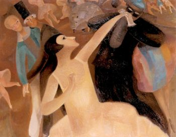A Festive Evening | Alice Bailly | oil painting