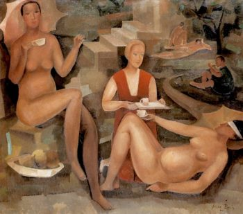 Afternoon Tea | Alice Bailly | oil painting