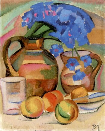 Apples and Pitchers | Alice Bailly | oil painting