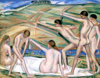 Archers | Alice Bailly | oil painting