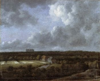 Bleaching Fields to the North-Northeast of Haarlem | Jacob Isaacksz van Ruisdael | oil painting