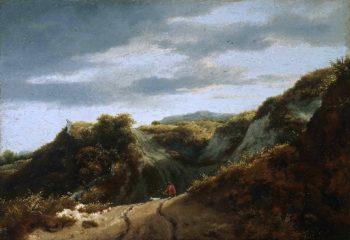 Dunes | Jacob Isaacksz van Ruisdael | oil painting