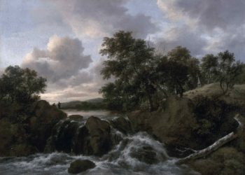 Landscape with a Waterfall | Jacob Isaacksz van Ruisdae | oil painting