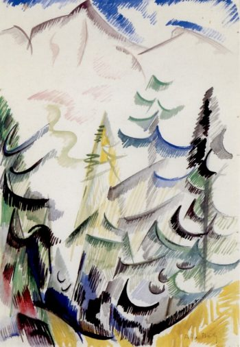 Beyond the Radiant Valley | Alice Bailly | oil painting