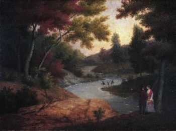 View of the Wissahickon | James Peale | oil painting