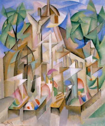 Cemetery | Alice Bailly | oil painting