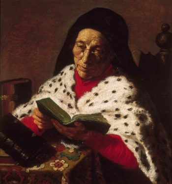 Old Woman Reading | Jan Lievens (Attributed) | oil painting