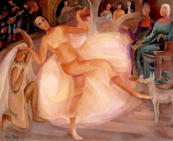 Dancer at the Palais | Alice Bailly | oil painting