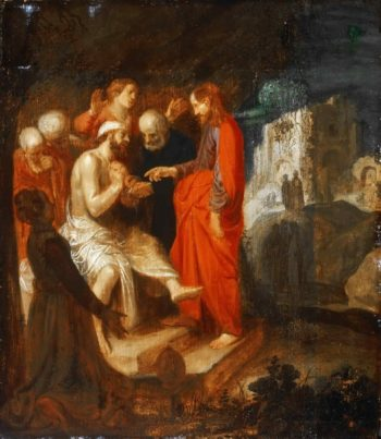The Raising of Lazarus | Jan Symonsz | oil painting