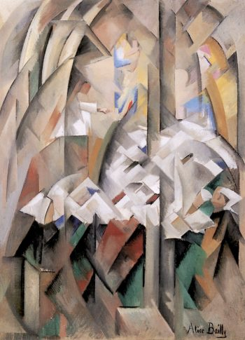 In the Chapel | Alice Bailly | oil painting