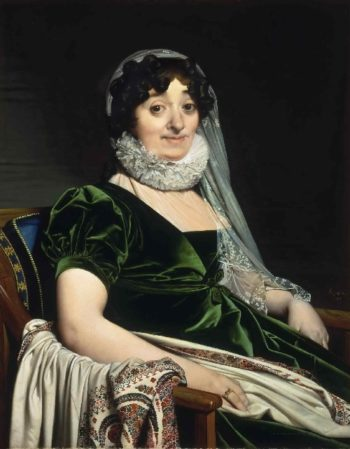 Portrait of the Countess of Tournon   Jean-Auguste-Dominique Ingres   oil painting