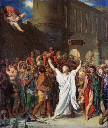 The Martyrdom of Saint Symphorien | Jean-Auguste-Dominique Ingres | oil painting