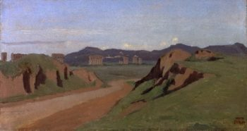 Aqueduct | Jean-Baptiste-Camille Corot | oil painting